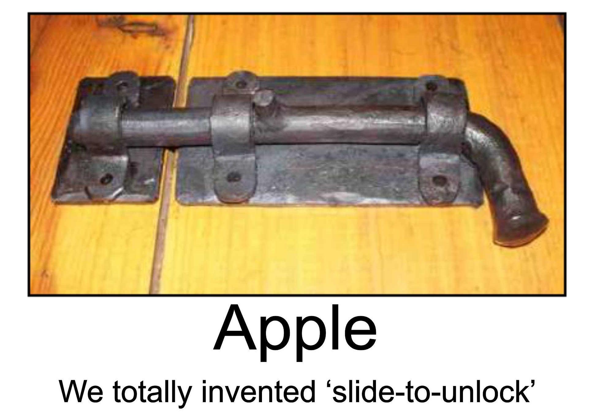 Una compagnia svedese afferma di possedere un brevetto per il sistema di sblocco adoperato da Apple