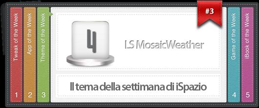 iSpazio Theme of the Week