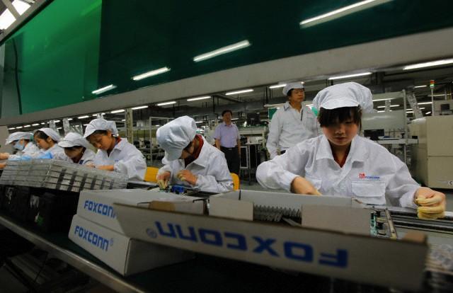 Foxconn aumenta fino al 25% gli stipendi dei propri lavoratori