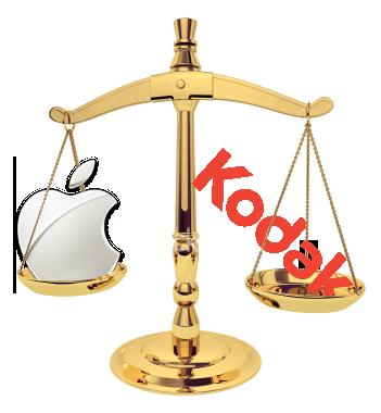 Respinta l'azione legale di Apple intentata contro Kodak