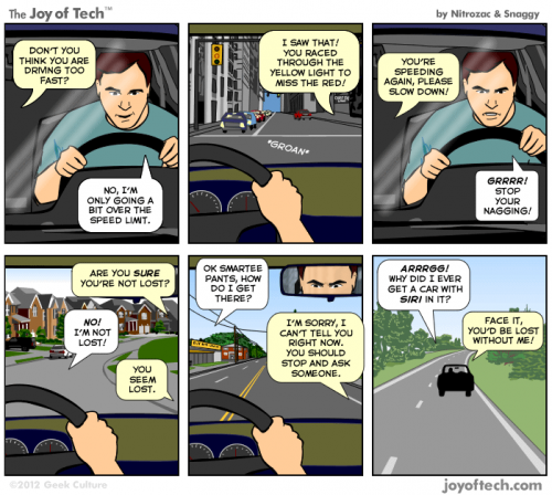 Siri, forse non il miglior copilota di sempre | Humor