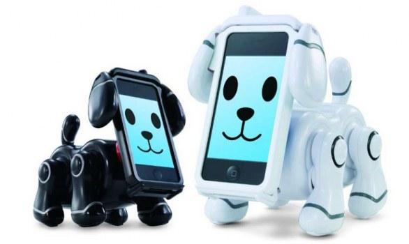 Bandai presenta Smartpet: il cane-robot che ha un iPhone per la testa [VIDEO]