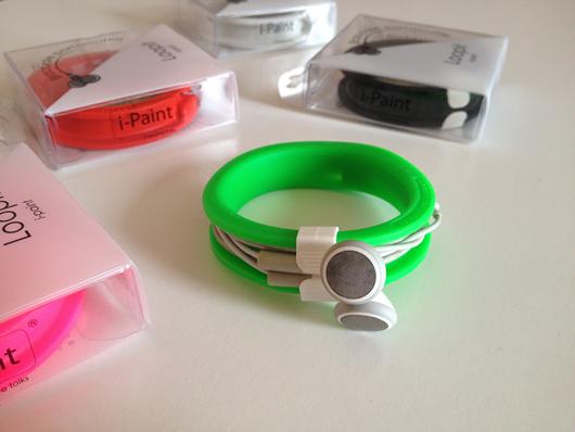 Loopit: il colorato braccialetto che tiene in ordine le nostre cuffie   iSpazio Product Review
