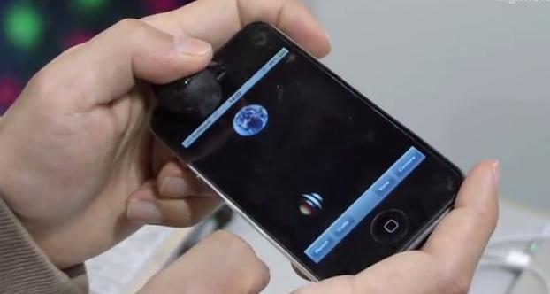 Un nuovo prototipo di joystick per iPhone sfrutta la fotocamera frontale [Video]
