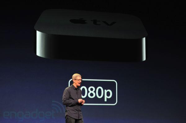 Apple presenta la nuova Apple TV con supporto alla risoluzione 1080p [AGGIORNATO CON COMUNICATO UFFICIALE]