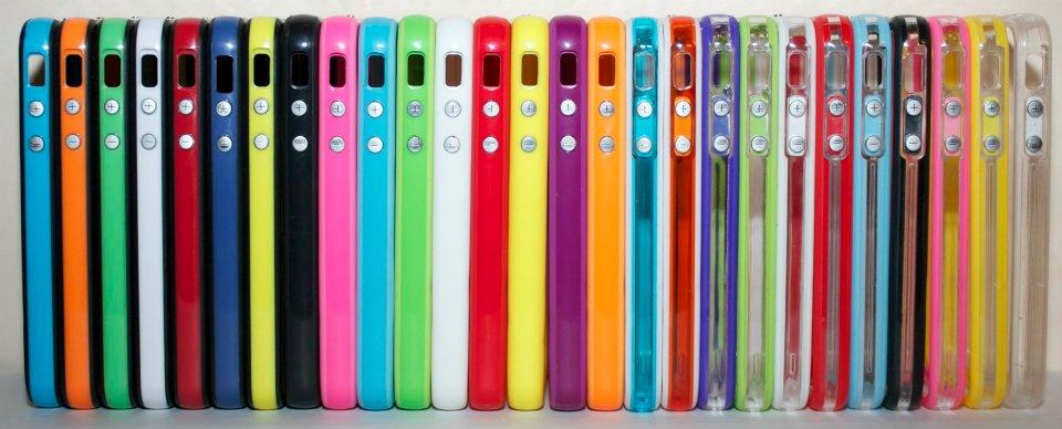 Bumpers Mellogs: decine di colori per un nuovo stile di protezione su iPhone 4 e 4S