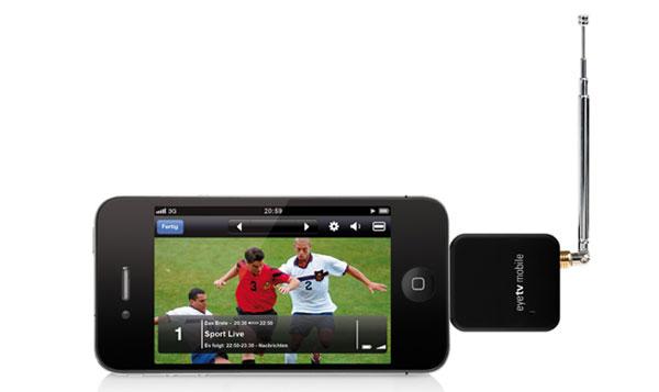 EyeTv Mobile diventa finalmente compatibile con iPhone 4S