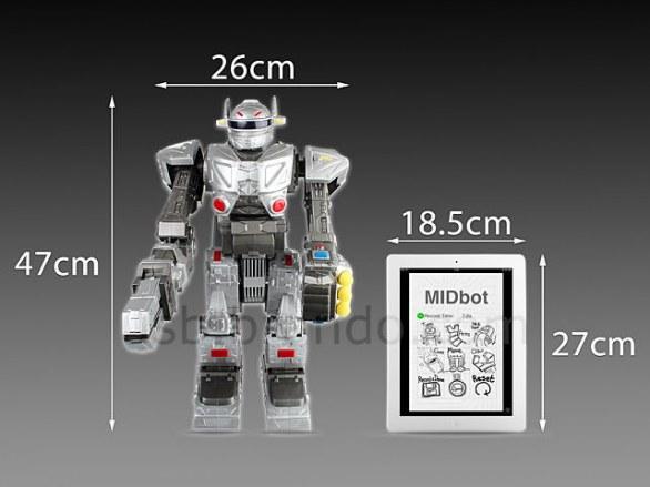 iDroid: il robot telecomandato da iOS, Android e PC [VIDEO]
