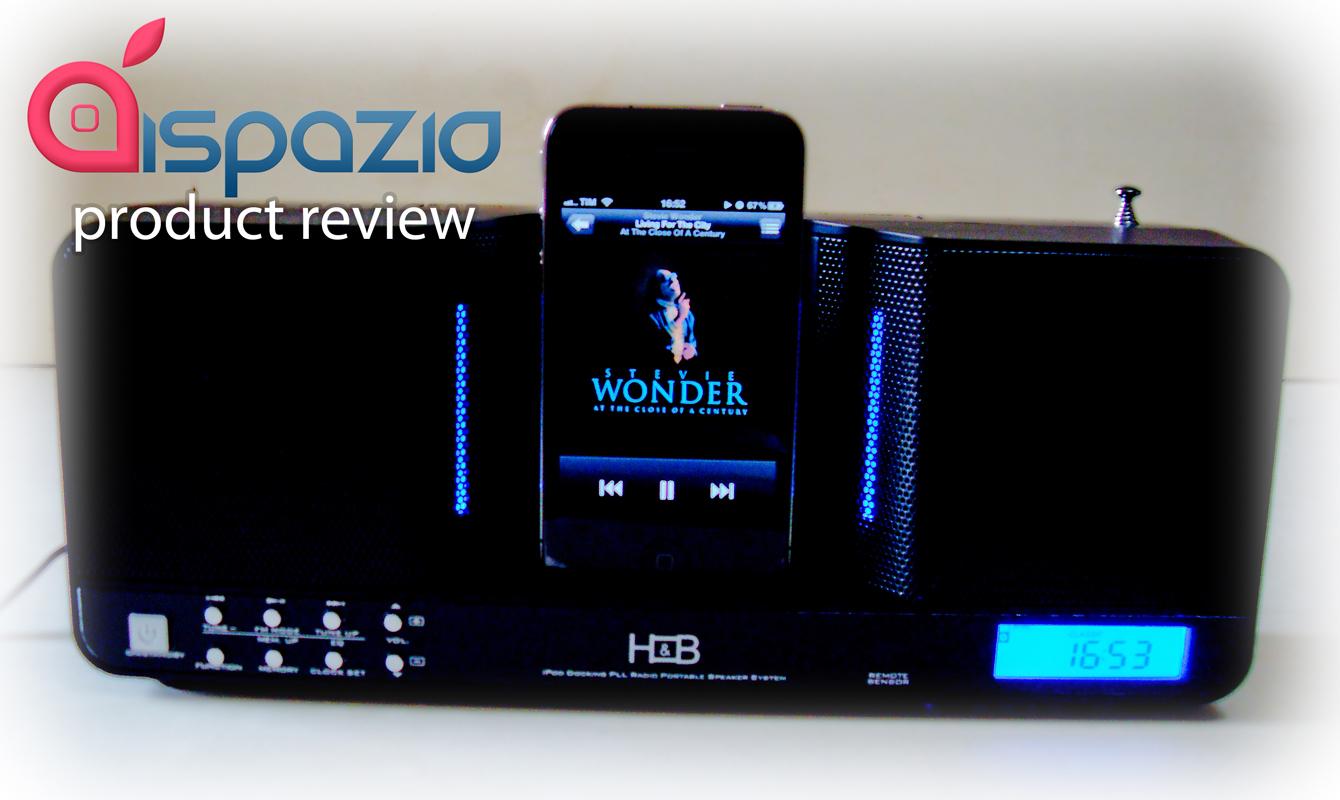 H&B iP20i: il dock audio portatile per i nostri idevice | iSpazio Product Review