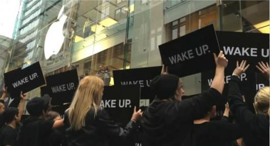 Samsung nega l'organizzazione della campagna anti-Apple nello store australiano