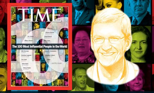 Tim Cook è tra le 100 persone più influenti al mondo!