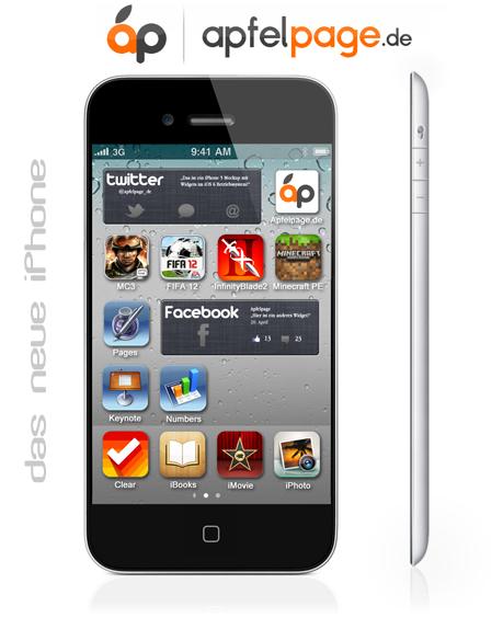 Un nuovo Concept mostra un possibile iPhone con schermo da 4′ pollici