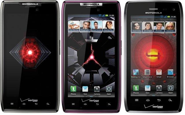 Il Motorola Droid Razr MAXX supera l'iPhone 4S e l'LG Spectrum nella durata della batteria