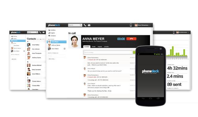 Phonedeck permette di controllare il tuo smartphone tramite Cloud