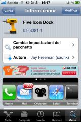 five incon dock-ispazio