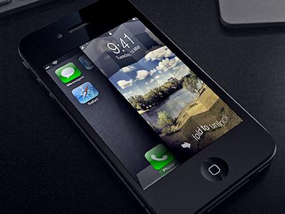 Dopo lo Slide To Unlock ecco a voi il Fold to Unlock | Concept
