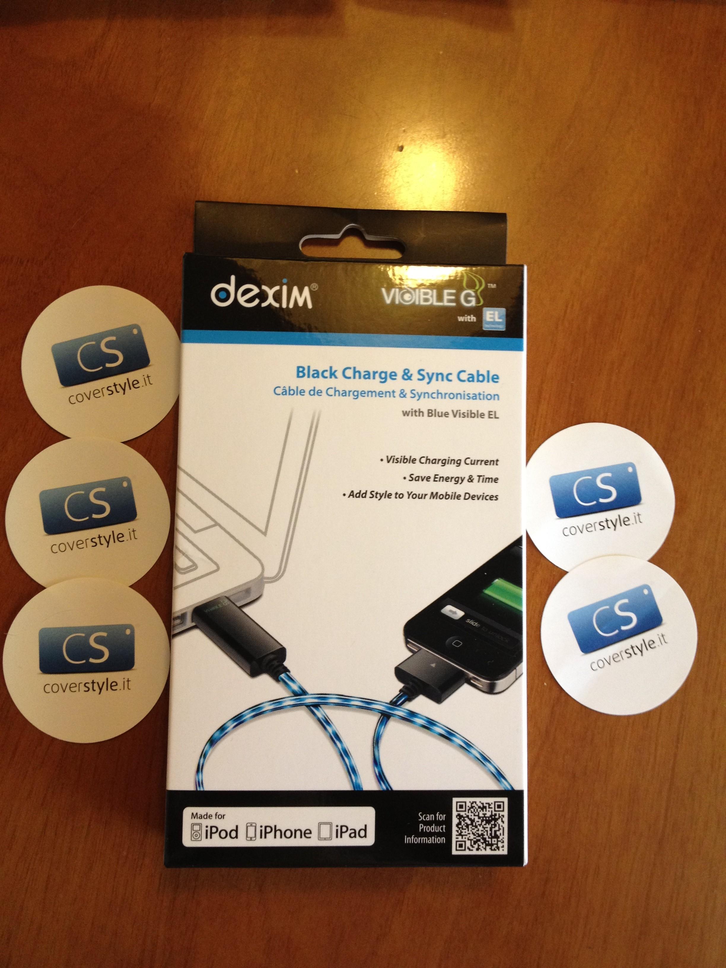 Dexim Visible Green, il nuovo cavo USB per iDevice che si illumina di blu al passaggio della corrente! | iSpazio Product Review