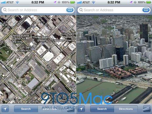 Apple è pronta a lanciare un servizio di mappe in 3D assieme ad iOS 6?
