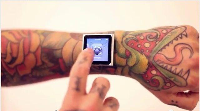 iDermal, si impianta nel braccio 4 magneti per agganciare il suo iPod Nano [Video]