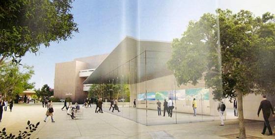 Svelato un progetto di costruzione di un Apple Store in vetro nella cittadina di Stanford