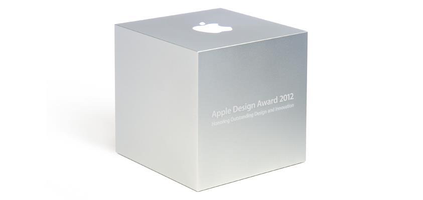 Proclamati i vincitori dell'Apple Design Awards del 2012