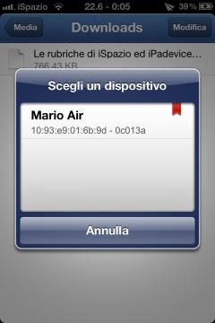 AirBlue Sharing-iSpazio-invio