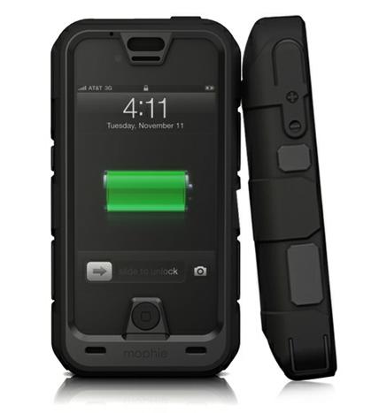 Da Mophie arriva la Juice Pack Pro, la nuova custodia impermeabile che presenta anche una batteria incorporata
