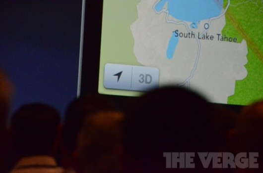 Mappe in iOS 6