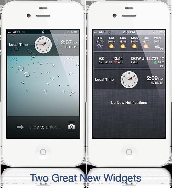 Clockify anima l'icona Orologio ed aggiunge nuovi Widget al sistema