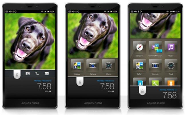 Feel UX: l'interfaccia grafica di Sharp in risposta ad HTC Sense e Samsung TouchWiz [Video]