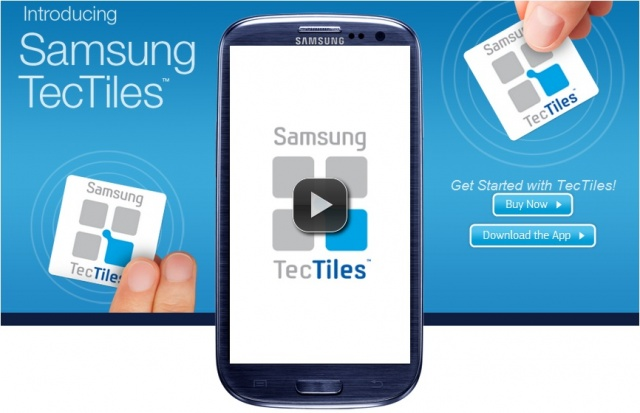 Samsung presenta le TecTiles, le tag NFC programmabili [Video]