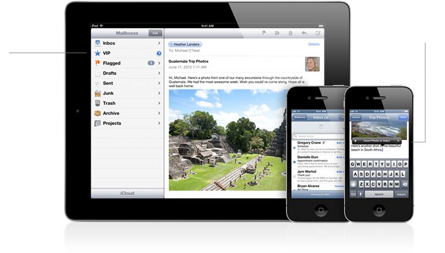 Apple inizia a rilasciare gli account mail con estensione @icloud.com