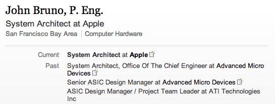 Apple assume un ingegnere hardware di alto profilo per i suoi nuovi chip