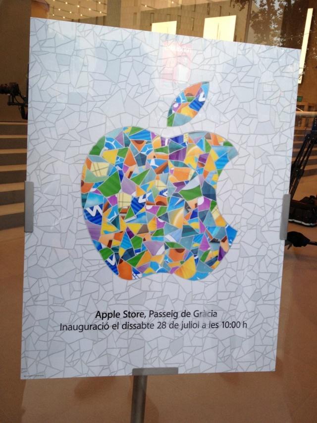 Arrivano le prime foto del nuovo Apple Store di Barcellona