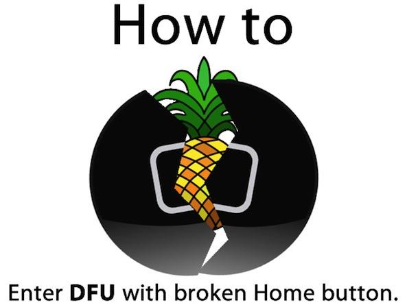 Effettuare il Jailbreak su un iPhone con il tasto Home non funzionante [Video]