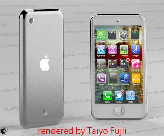Apple potrebbe rilasciare entro i prossimi mesi un nuovo iPod Touch da 4″ con chip A5 e retro in alluminio lucido! | Rumors