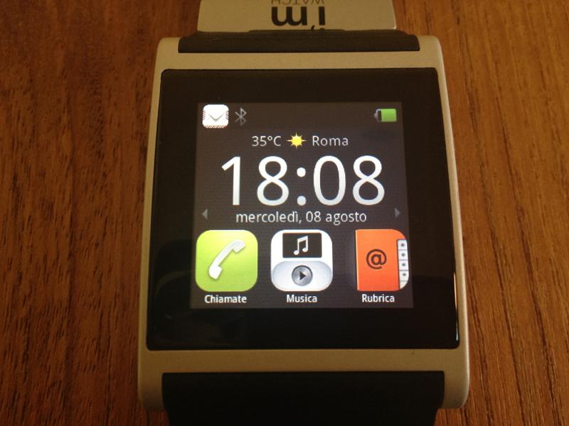 iSpazio prova i'm Watch, l'orologio smartwatch che si collega al nostro iPhone   iSpazio Product Review