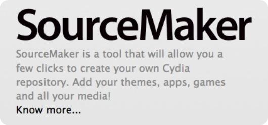 SourceMaker: il programma che permette di creare le repository Cydia in maniera semplice ed intuitiva da oggi disponibile anche per Windows