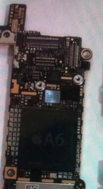 Nuove immagini di vari componenti del prossimo iPhone mostrano anche una logic board con processore A6