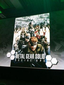Konami annuncia Metal Gear Solid: Social Ops