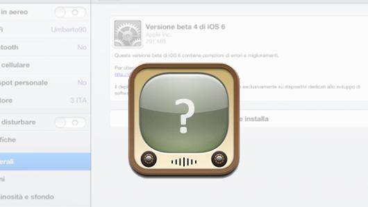 Youtube iOS 6 beta 4