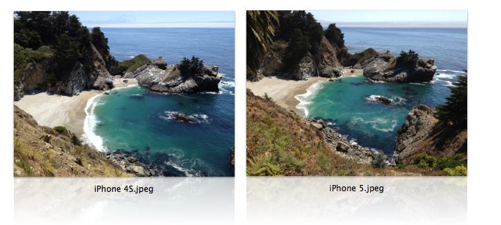 confronto fotocamera iphone 4s e iphone 5