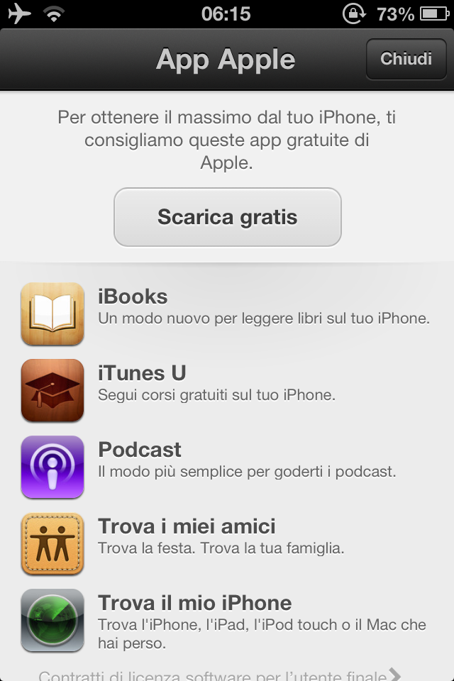 apple aggiorna l 39 app store su ios 6 con un solo tasto potremo scaricare 5 applicazioni gratuite. Black Bedroom Furniture Sets. Home Design Ideas