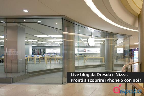 Arriva l'iPhone 5: Segui il DayOne in diretta su iSpazio dalla Francia, la Germania e l'Australia! [TERMINATO – ABBIAMO ACQUISTATO L'IPHONE 5!]