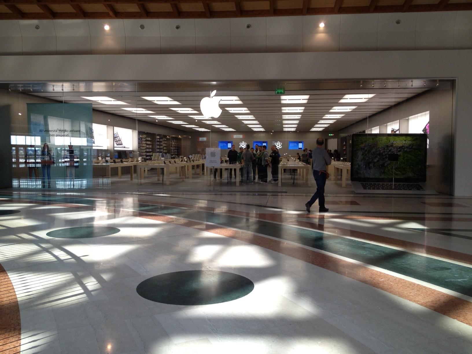 Ecco le foto dell'Apple Store Il Leone: Segui l'inaugurazione in diretta su iSpazio a partire da questa notte!