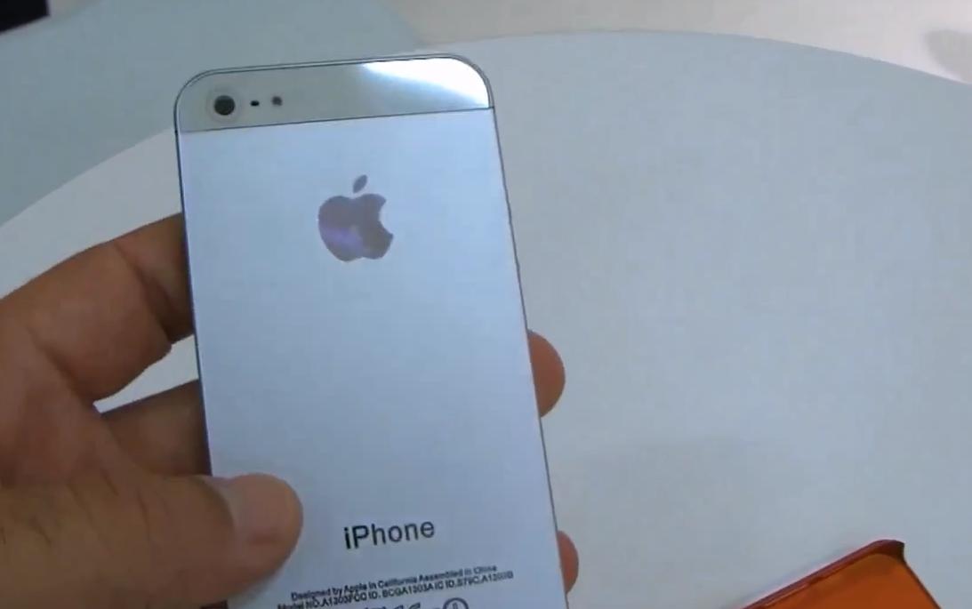 Un iPhone 5 dimostrativo è stato avvistato all'IFA 2012 [Video]