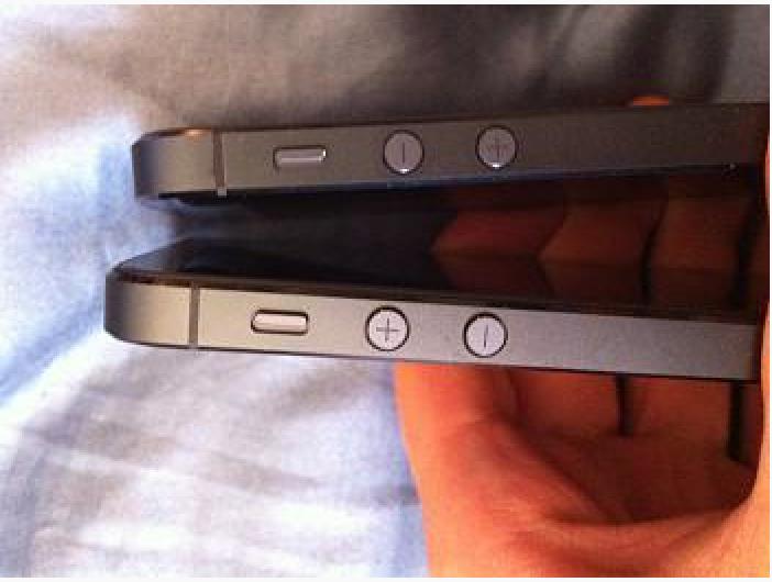 Alcuni iPhone 5 hanno i tasti del volume invertiti!