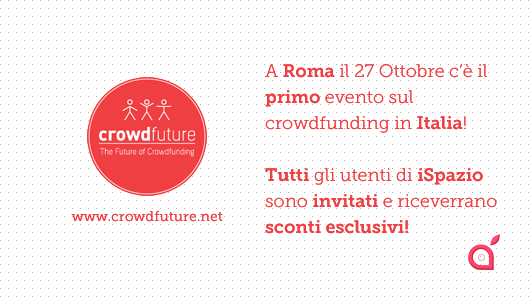 CrowdFuture: la convention che spiega come autofinanziare la propria applicazione [biglietti scontati ultimo giorno]