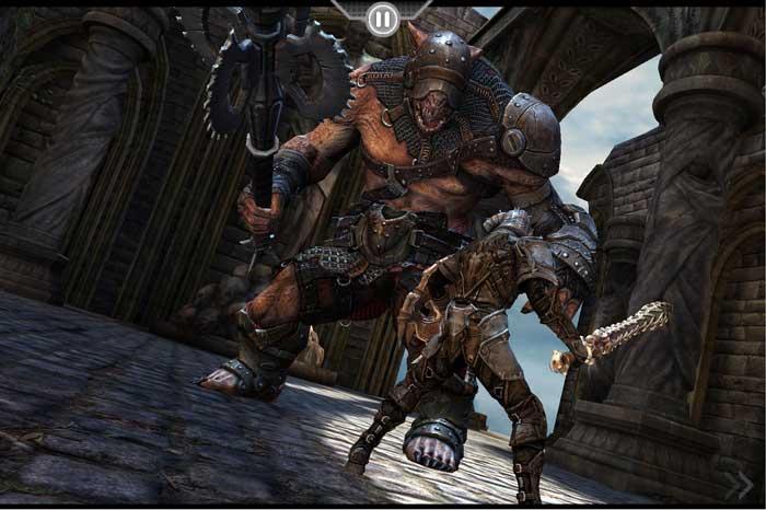 L'uscita di Infinity Blade Dungeons per iOS è stata ritardata al 2013