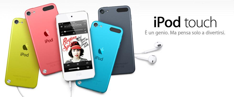 Con l'arrivo dell'iPad Mini cosa ne sarà dell'iPod Touch?